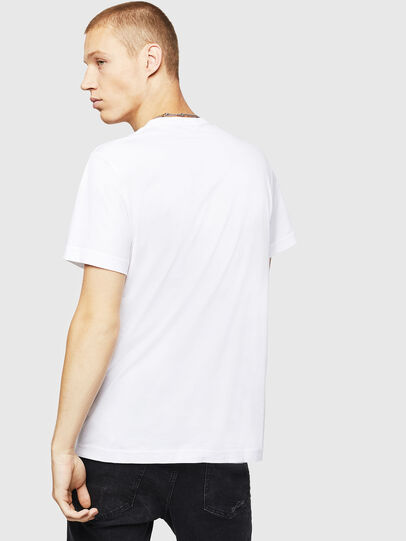 Diesel - T-DIEGO-B16, White - T-Shirts - Image 2