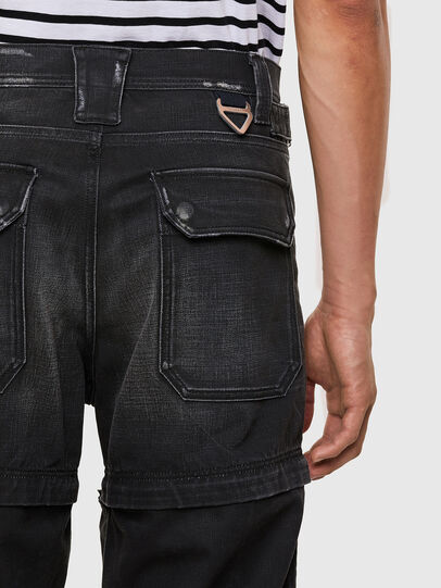 Diesel - D-Multy 009KX, Black/Blue - Jeans - Image 4