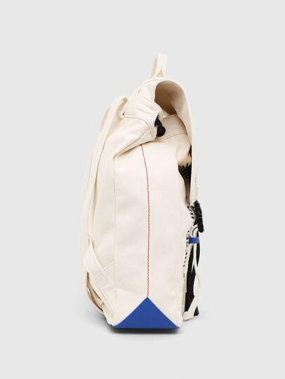 Diesel - VOLPAGO BACK, White - Backpacks - Image 3
