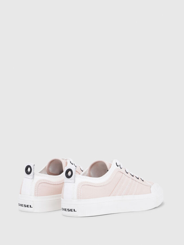 Diesel - S-ASTICO LOW LACE W, Pink/White - Sneakers - Image 3