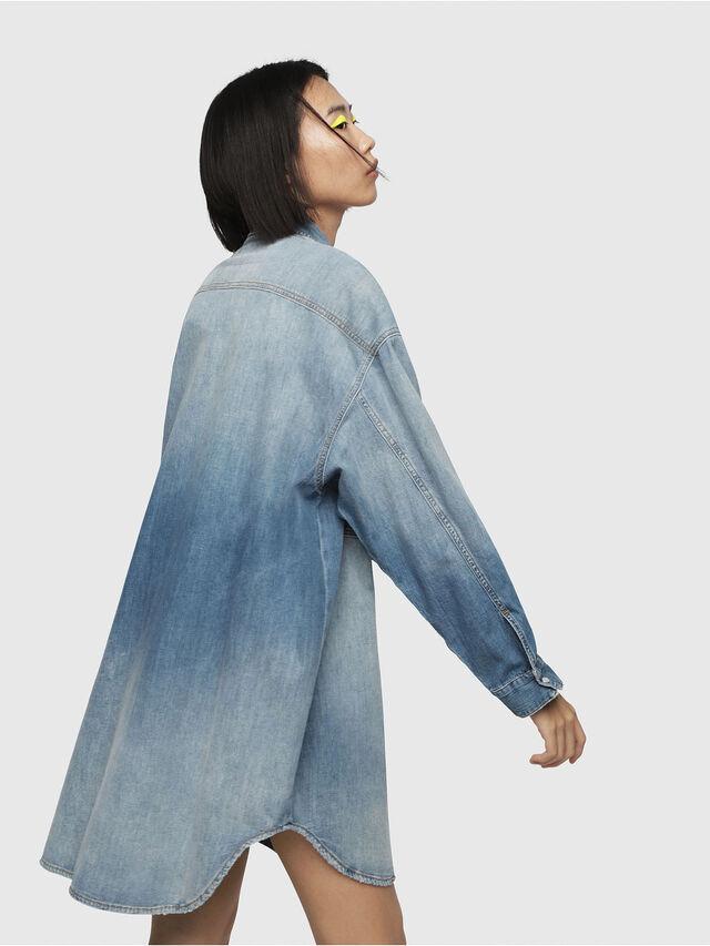Diesel - DE-EUFRASIA, Blue Jeans - Denim Shirts - Image 2
