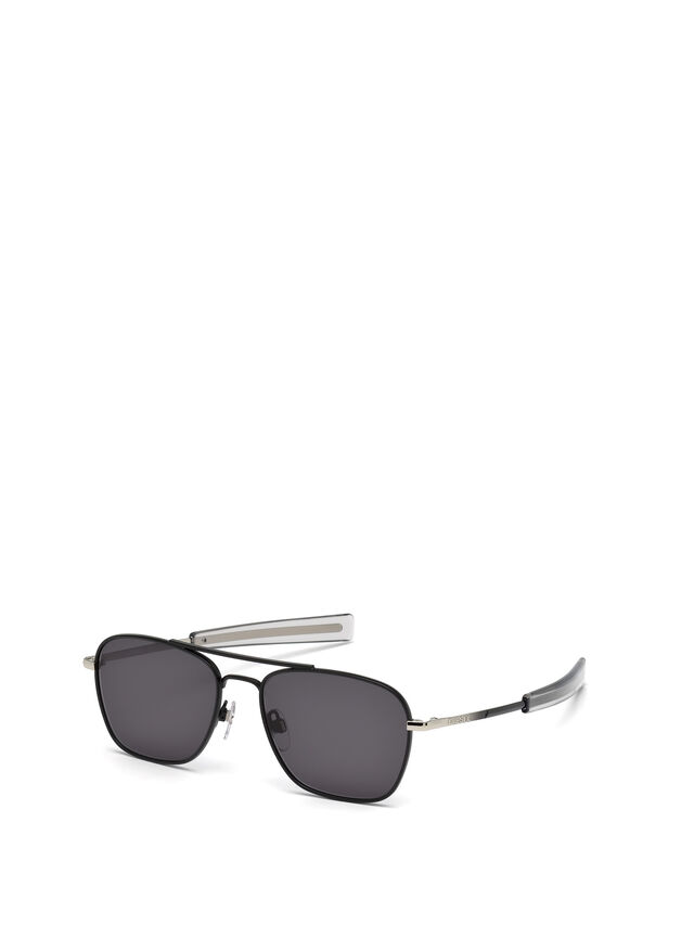 Diesel - DL0219, Black - Sunglasses - Image 4
