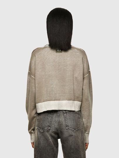 Diesel - M-CAROLINA, Light Grey - Knitwear - Image 2