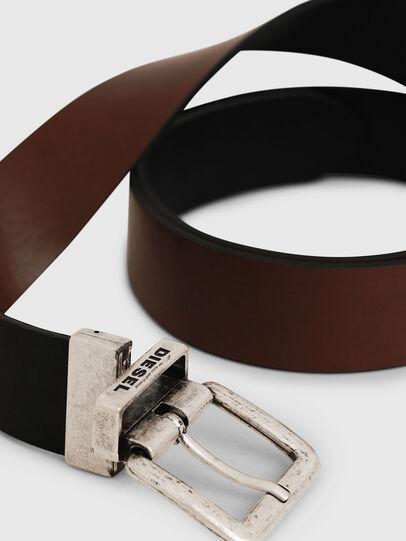 Diesel - B-DOUCKLE II, Black/Brown - Belts - Image 2