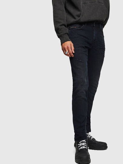 Diesel - Thommer 069GM, Black/Dark grey - Jeans - Image 6
