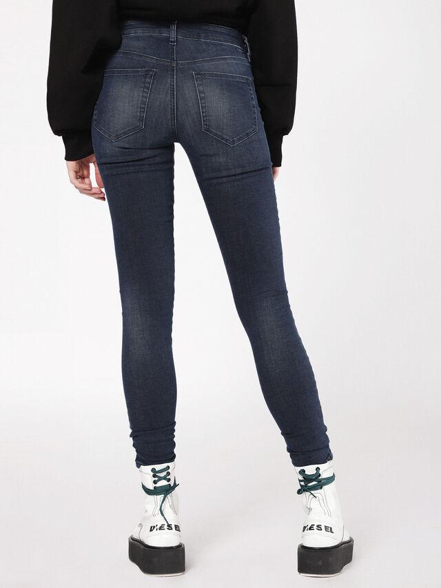 Diesel - Slandy 0681G, Dark Blue - Jeans - Image 2