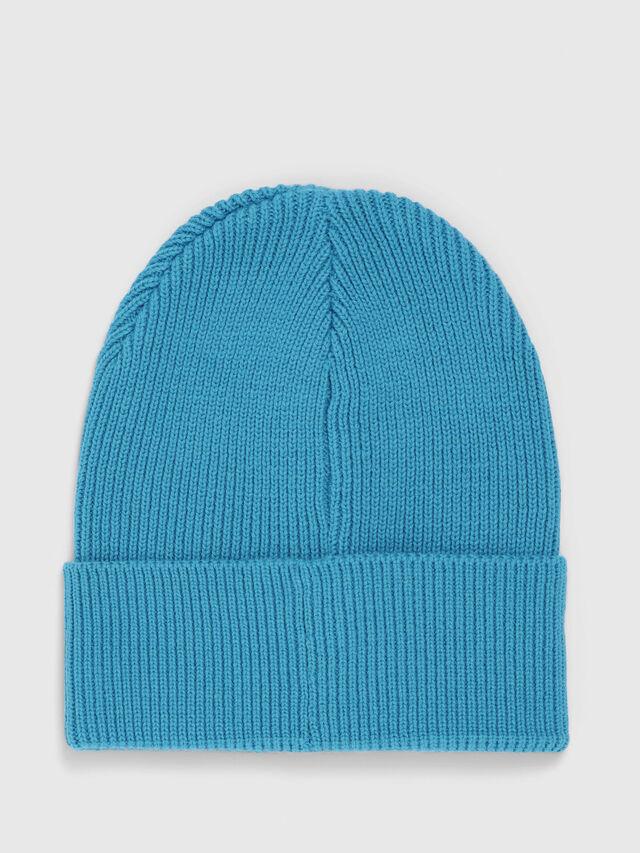 Diesel - K-CODER, Turquoise - Knit caps - Image 2