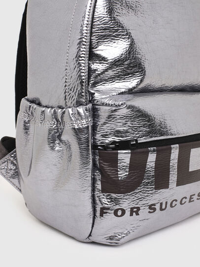 Diesel - F-BOLD BACK III, Silver - Backpacks - Image 7