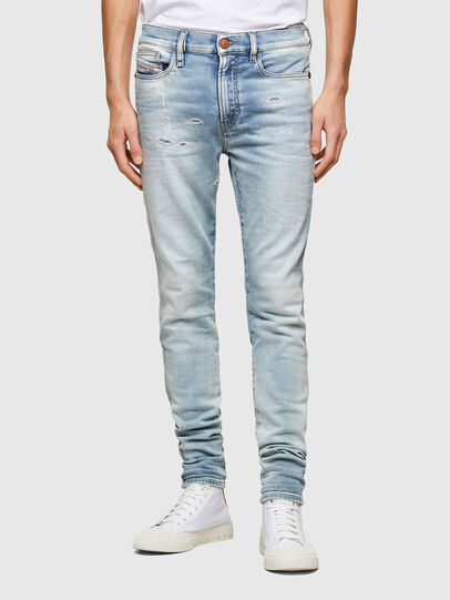 Diesel - D-Reeft JoggJeans® 069UC, Light Blue - Jeans - Image 1