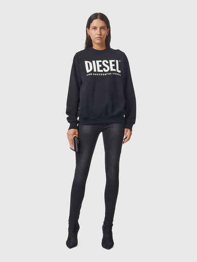 Diesel - F-ANG, Black/White - Sweaters - Image 4