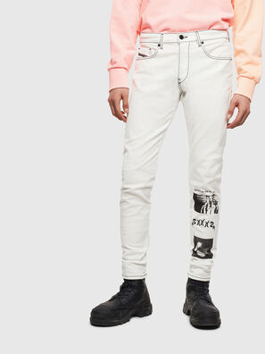 D-Strukt 009BF, White - Jeans