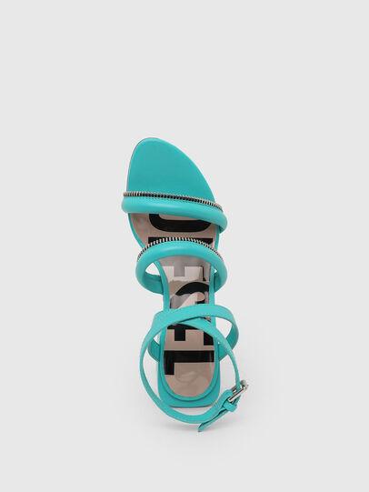 Diesel - SA-JAYNET, Azure - Sandals - Image 6