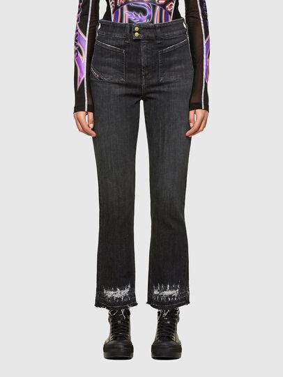 Diesel - D-Earlie 009JZ, Black/Dark grey - Jeans - Image 1