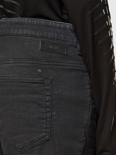 Diesel - FAYZA JoggJeans® 069QL, Black/Dark grey - Jeans - Image 4