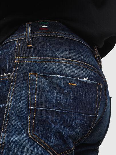 Diesel - Thommer 0097H, Dark Blue - Jeans - Image 5
