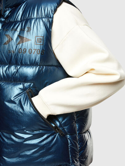 Diesel - W-SELLERS, Blue - Winter Jackets - Image 5