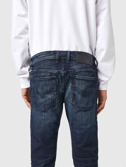 Diesel - Sleenker 069XD, Dark Blue - Jeans - Image 4