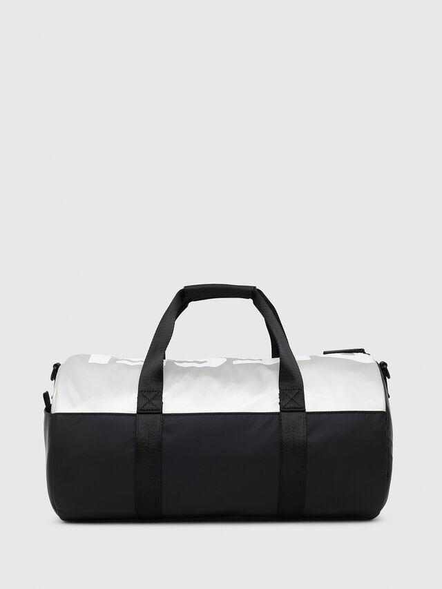 Diesel - BOLD DUFFLE, Black/Silver - Bags - Image 2