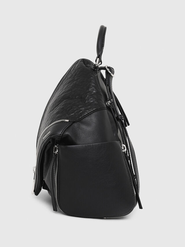 Diesel - LE-MHONIC, Black - Backpacks - Image 3