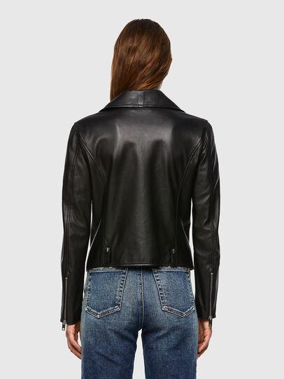 Diesel - L-LYFA, Black - Leather jackets - Image 2