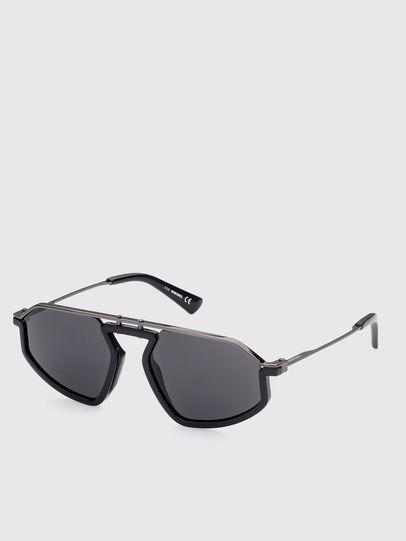 Diesel - DL0345, Black - Sunglasses - Image 2