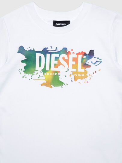 Diesel - TDOSKYB ML-R, White - T-shirts and Tops - Image 3