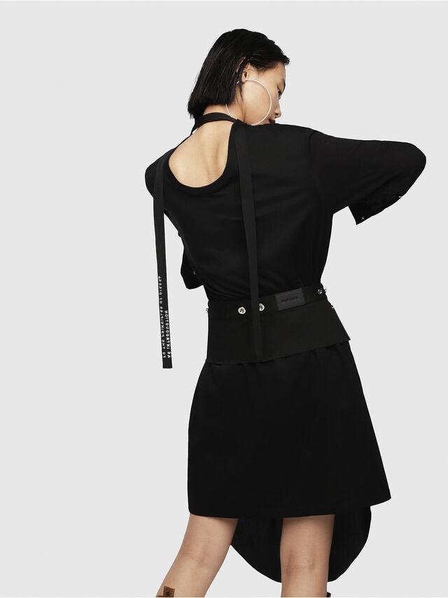 Diesel - D-YAE, Black - Dresses - Image 2