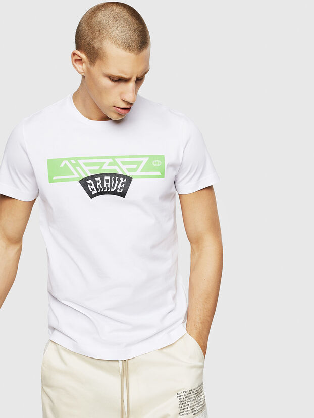 T-DIEGO-A1, White - T-Shirts
