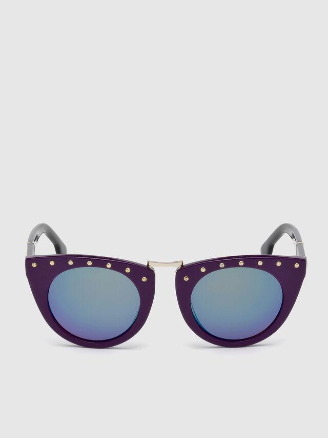Diesel - DL0211, Violet - Sunglasses - Image 1