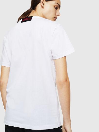 Diesel - LCP-T-DIEGO-NAIROBI, White - T-Shirts - Image 4