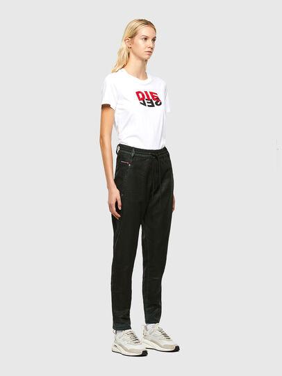 Diesel - Krailey JoggJeans 069QP, Black/Green - Jeans - Image 6