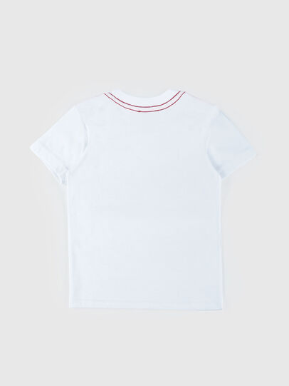 Diesel - TOQUEB MC-R, White - T-shirts and Tops - Image 2