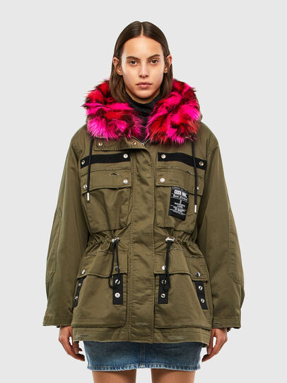 Diesel - G-URIBE, Military Green - Jackets - Image 1