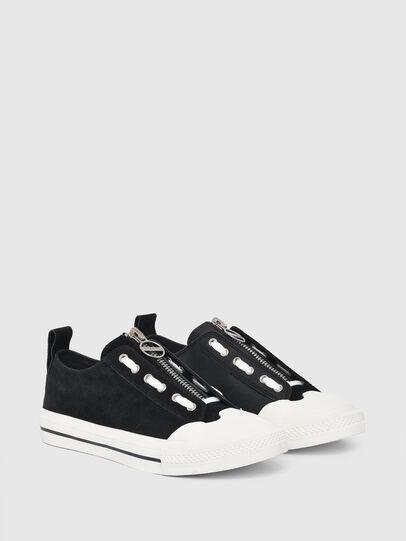 Diesel - S-ASTICO LZIP W, Black - Sneakers - Image 2