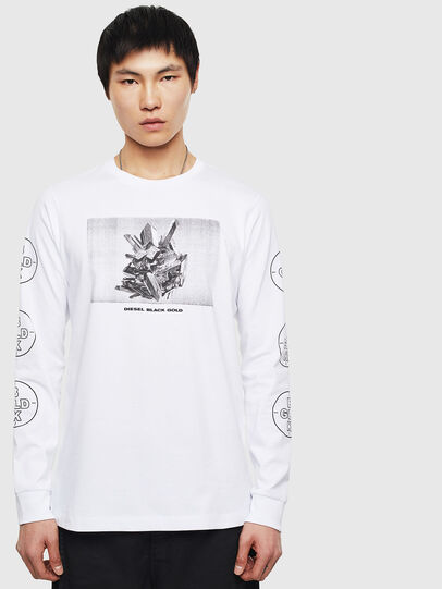 Diesel - T-GRANITE, White - T-Shirts - Image 1