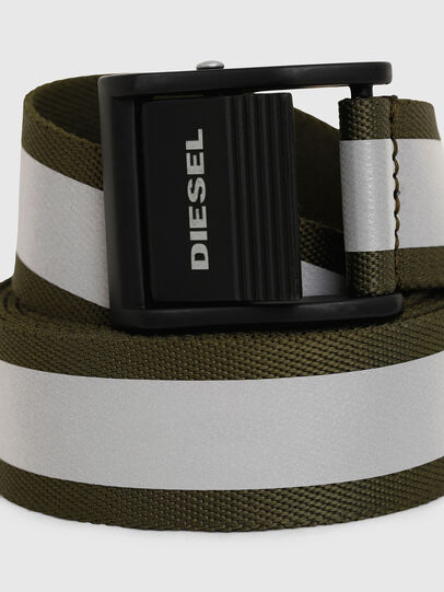 Diesel - B-FIRE, Olive Green - Belts - Image 2