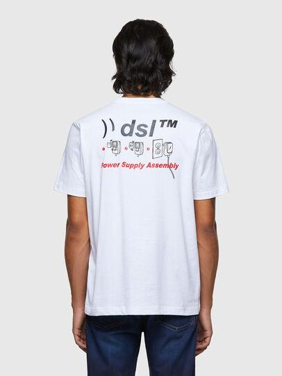 Diesel - T-JUST-B56, White - T-Shirts - Image 2