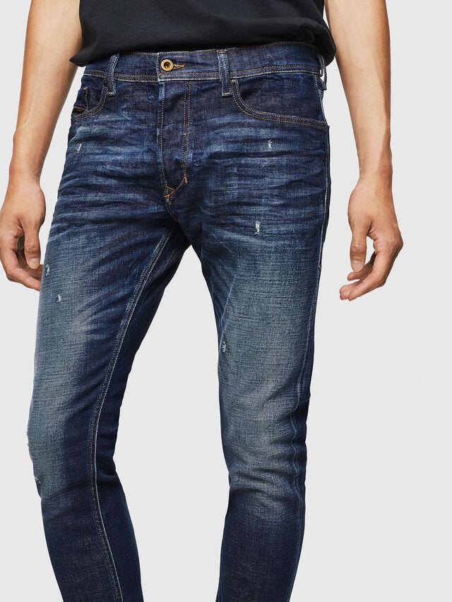 Diesel - Tepphar 087AT, Dark Blue - Jeans - Image 3