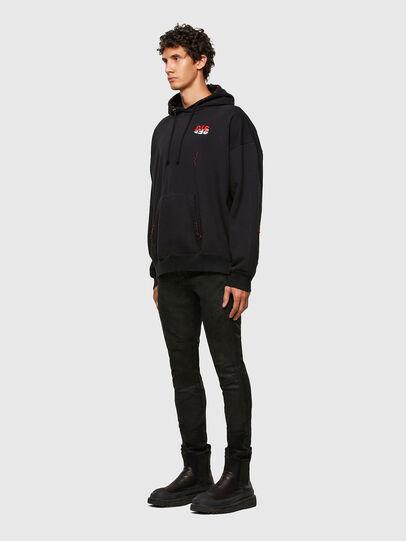 Diesel - S-UMMER-N71, Black - Sweaters - Image 5