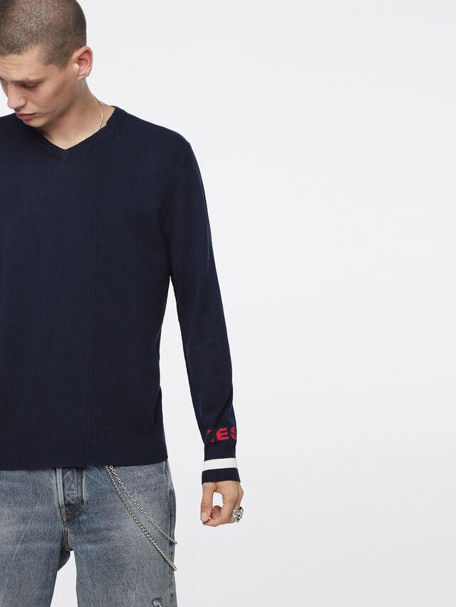 Diesel K-LOT, Dark Blue - Knitwear - Image 1