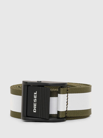Diesel - B-FIRE, Olive Green - Belts - Image 1