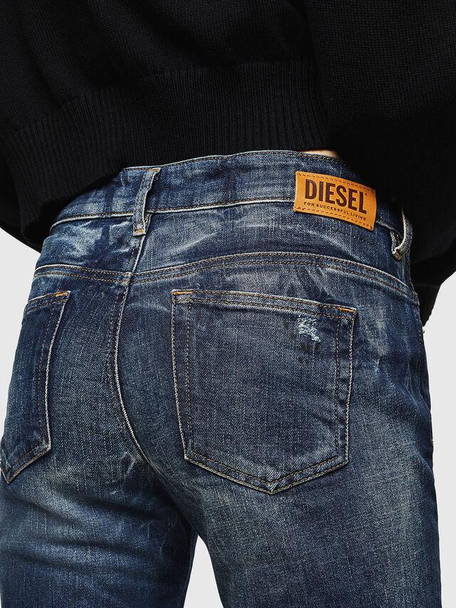 Diesel - D-Rifty 089AL, Dark Blue - Jeans - Image 4