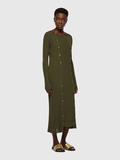 Diesel - M-GEORGIA, Olive Green - Dresses - Image 1