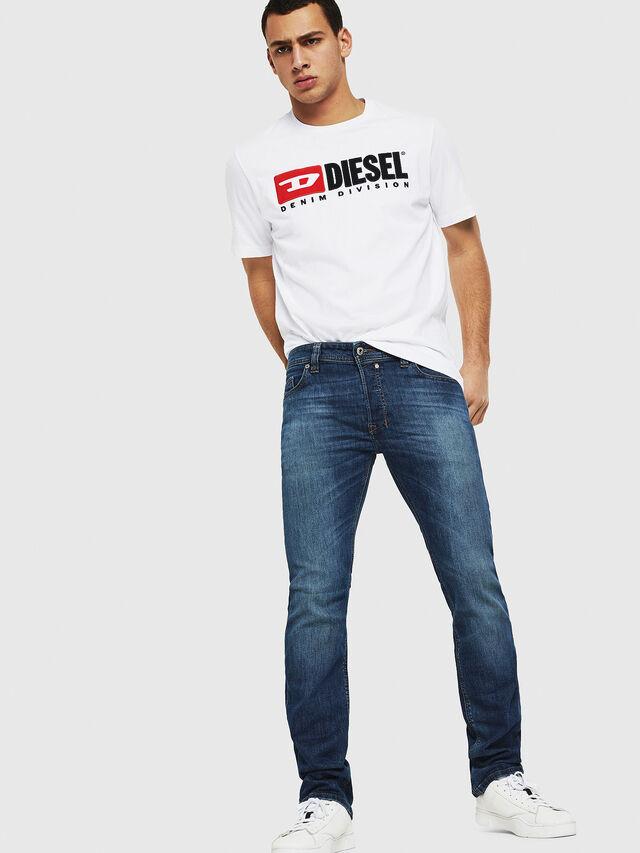 Diesel - Safado C89AR, Dark Blue - Jeans - Image 4