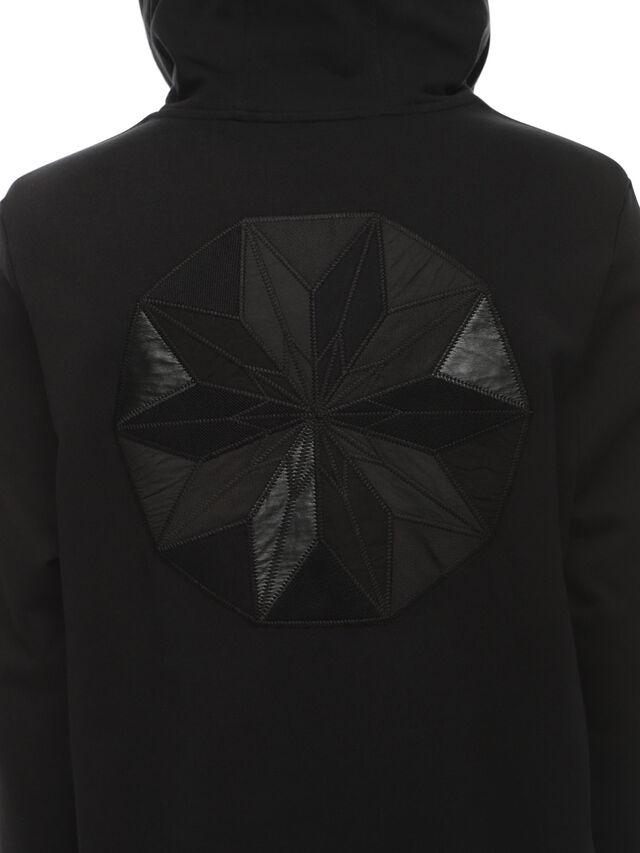 Diesel - SNEILBOOD-PATCHWORK, Black - Sweaters - Image 4