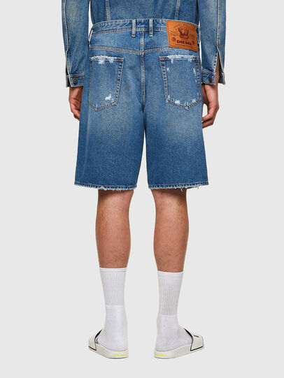 Diesel - D-WILLOH-X, Light Blue - Shorts - Image 2