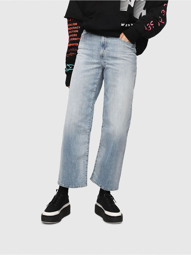 Diesel - Widee 081AL, Light Blue - Jeans - Image 1