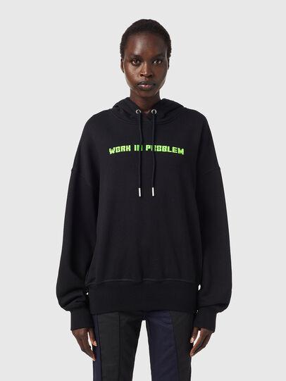 Diesel - F-MAGDALENA-B3, Black - Sweaters - Image 1