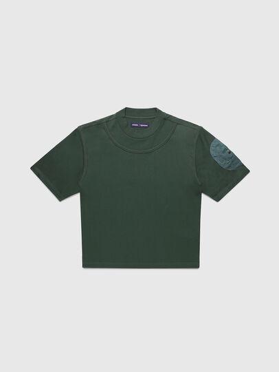 Diesel - PR-TS03, Dark Green - T-Shirts - Image 1