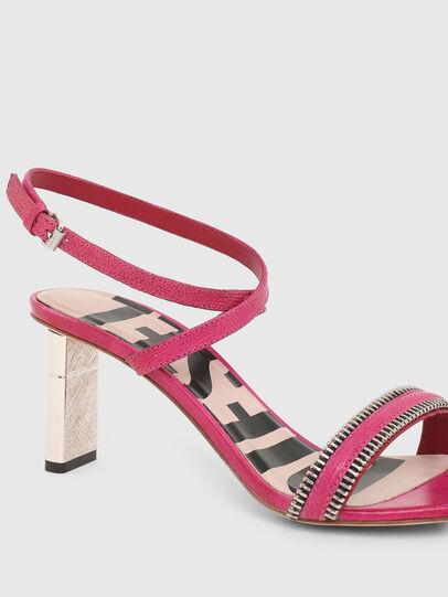 Diesel - SA-LEZIPPO PL, Pink - Sandals - Image 4